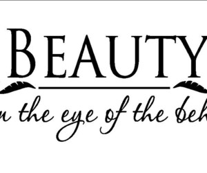beauty, eye, and quote image