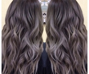 black, hairstyle, and gray image