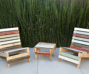 pallet chairs, pallet chair plans, and diy pallet chair image