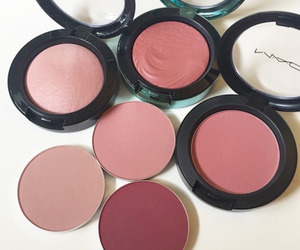 makeup, mac, and blush image