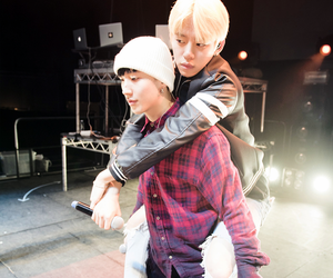 daehyun, jongup, and boy image