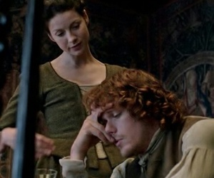 Claire, jamie, and tv serie image