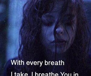 breath, broken, and dark image
