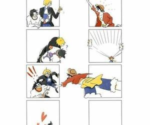 sabo, ace, and anime image