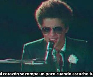 bruno mars, frases, and song image