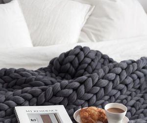coffee, home, and bed image
