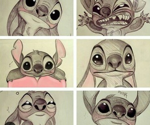 disney, stitch, and stich image