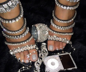 diamond, shoes, and heels image