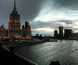 moscow, river, and russia image