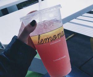 lemonade, drink, and fruit image