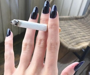 cigarette and nails image