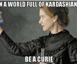 kardashian and curie image