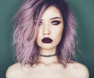 color hair, hair, and saç image