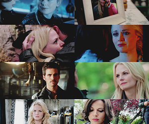 Jennifer Morrison, once upon a time, and ginnifer goodwin image