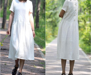 etsy, women clothing, and loose fitting dress image
