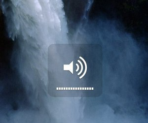 waterfall, water, and music image