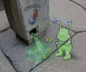spring, art, and street art image