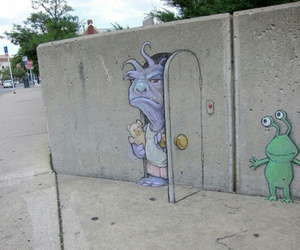 art, monster, and street art image