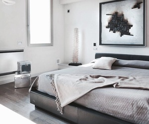 interior, bed, and house image