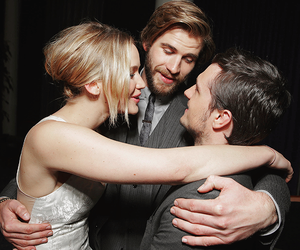 Jennifer Lawrence, liam hemsworth, and josh hutcherson image
