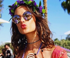 alessandra ambrosio, beautiful, and coachella image