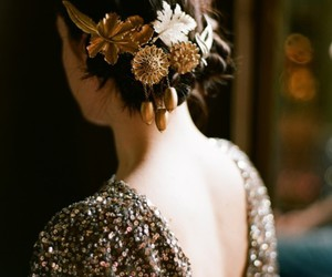 embellishment, hair, and hair do image