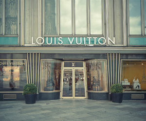 Louis Vuitton and store image