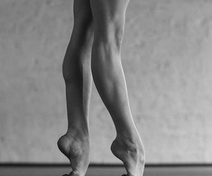 dancer, foot, and muscles image