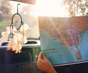 america, car, and inspiration image