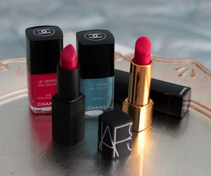 chanel and lipstick image