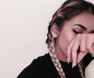 hair, nails, and braid image