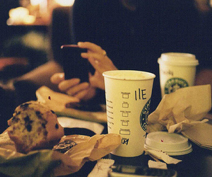coffee, starbucks, and delicious image