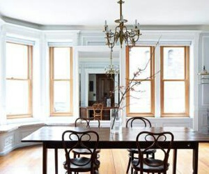 casa, dining room, and nyc image
