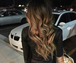 hair, beauty, and car image