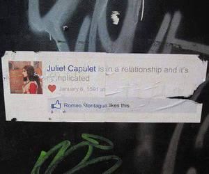 facebook, Relationship, and romeo image