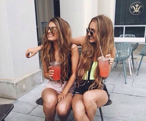 best friends, smile, and beauty life image
