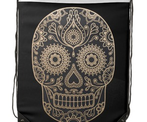 backpack, cool, and dia de los muertos image