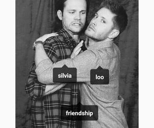 friendship, hug, and jared padalecki image