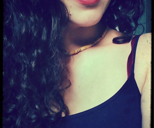 beauty, redlips, and me image