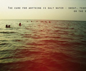 inspire, quote, and sea image