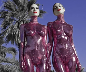 alien, glitter, and the veronicas image