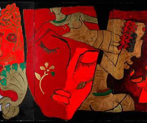 maqbool fida husain and modern indian painter image
