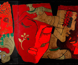 maqbool fida husain and modern indian painter image