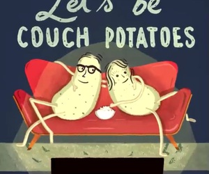 be, potatoes, and couch image