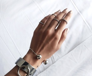 rings, accessories, and bracelet image