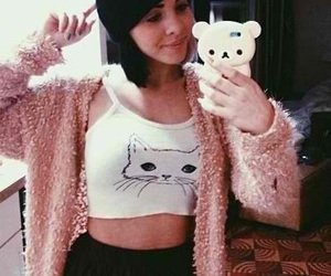 melanie martinez and selfie image