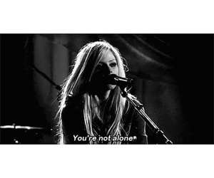 Avril Lavigne, blanco y negro, and cancion image