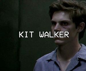 american horror story, kit walker, and evan peters image