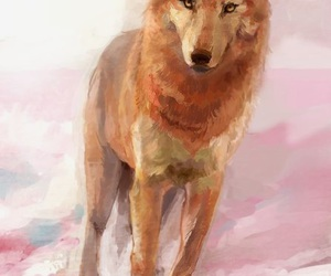 wolf and wolf's rain image