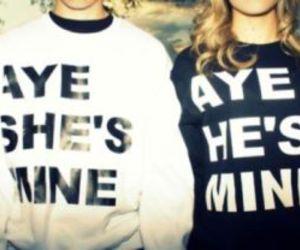 couple and mine image